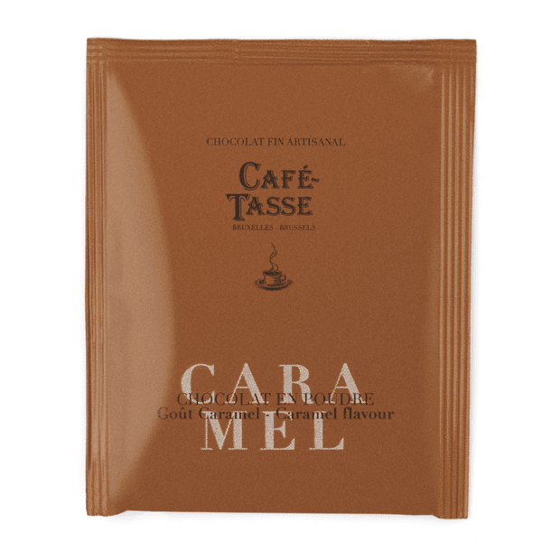 Café-Tasse шоколад на прах за пиене карамел